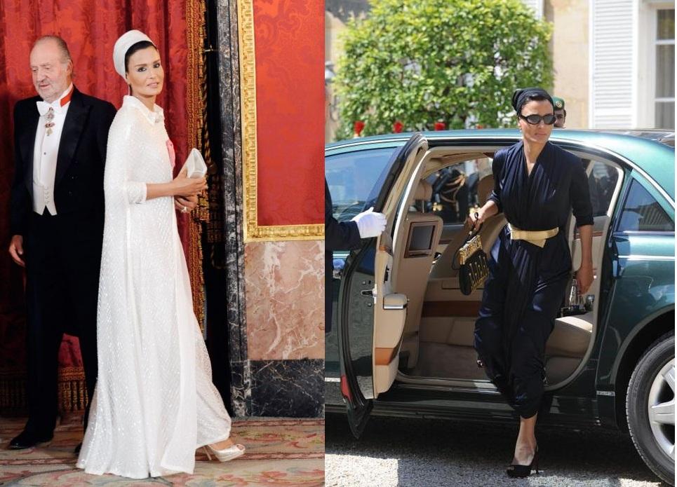 Sheikha mozah wedding