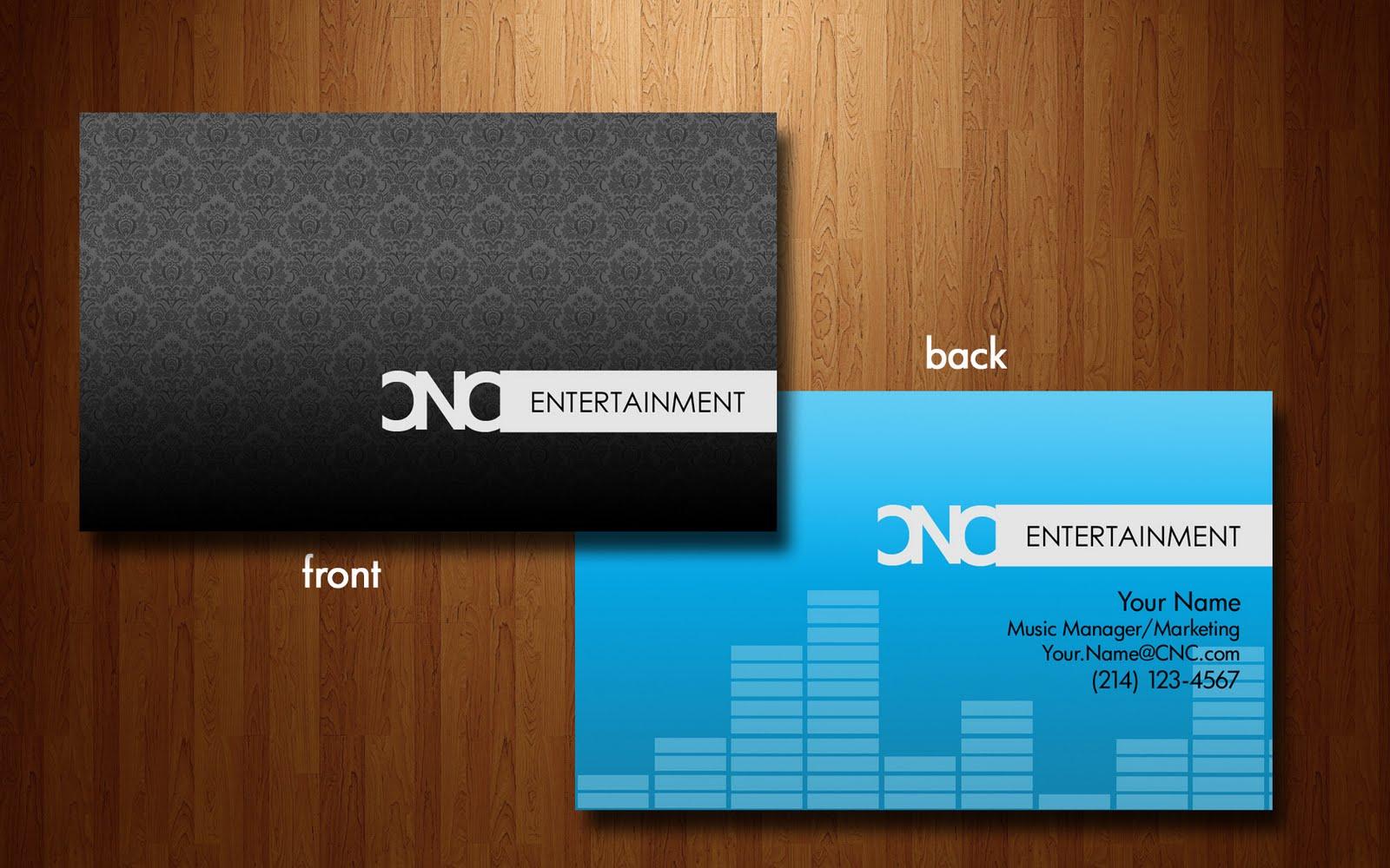 Sgr graphic design music entertainment business card music entertainment business card colourmoves