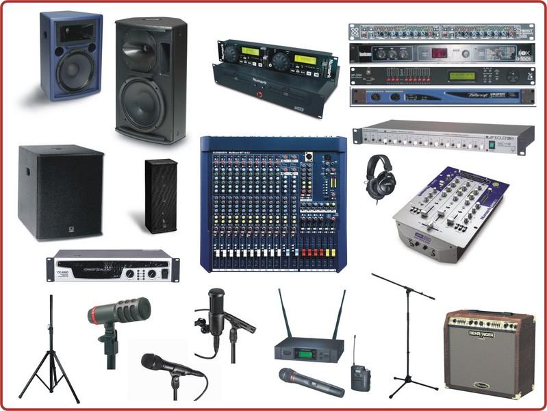 equipos de audio y video: