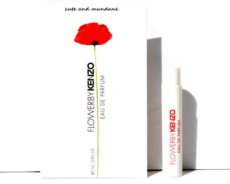 cute and mundane flower by kenzo eau de parfum review. Black Bedroom Furniture Sets. Home Design Ideas