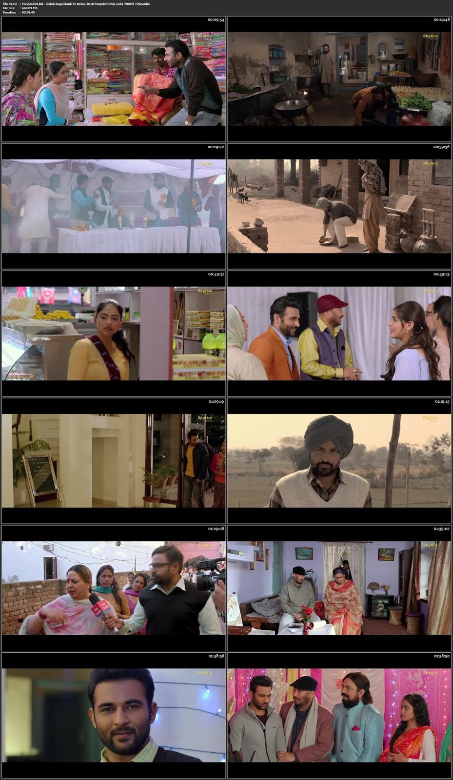 Golak Bugni Bank Te Batua 2018 Punjabi Full Movie HDRip 720p