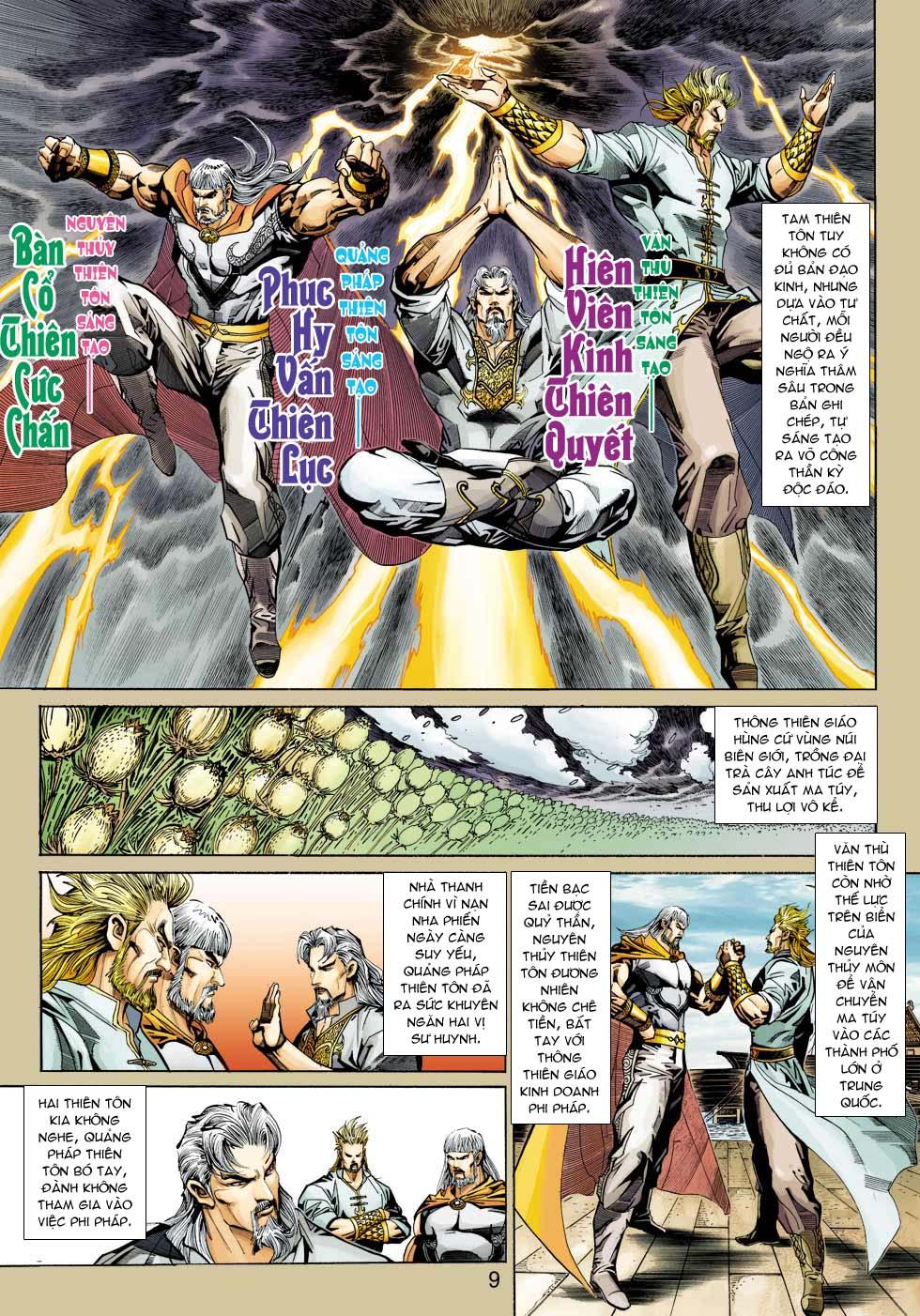 Tân Tác Long Hổ Môn chap 343 - Trang 9