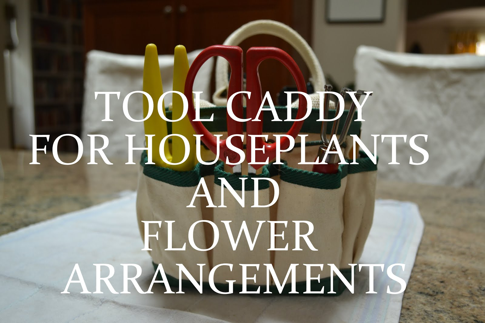 Tool Caddy for Flowers/Houseplants