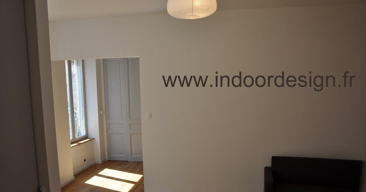 indoordesign architecture d 39 int rieur lyon tabareau 32m2 livr. Black Bedroom Furniture Sets. Home Design Ideas