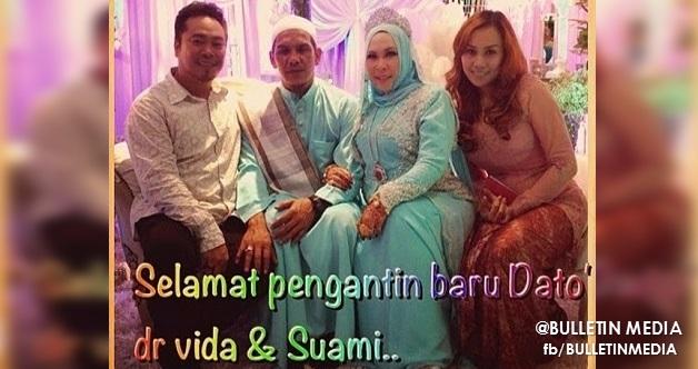 Gambar Perkahwinan Dato Seri Vida, Pengasas Produk Qu Puteh. [11 GAMBAR]