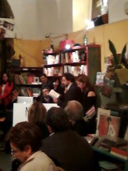 """Presentazione di """"Tunisi, taxi di sola andata"""", 16 maggio 2012, libreria N'Importe Quoi, Roma"""
