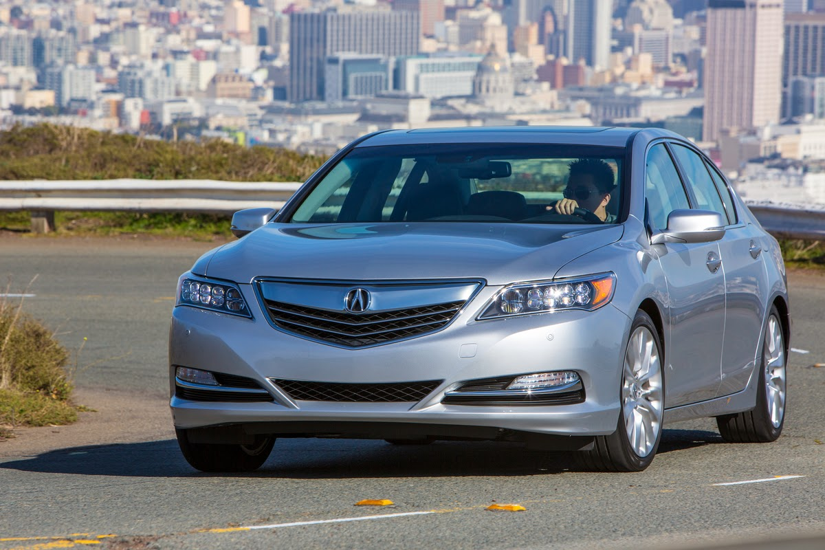 Acura's new RLX gets the pulse pumping