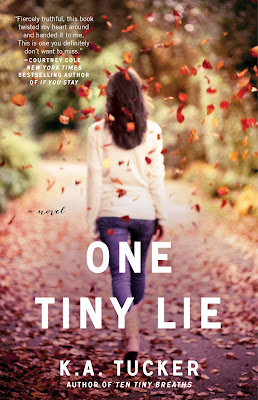 Cover Reveal: One Tiny Lie by K. A. Tucker