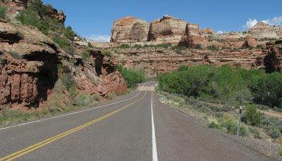 Highway 24 i Utah.