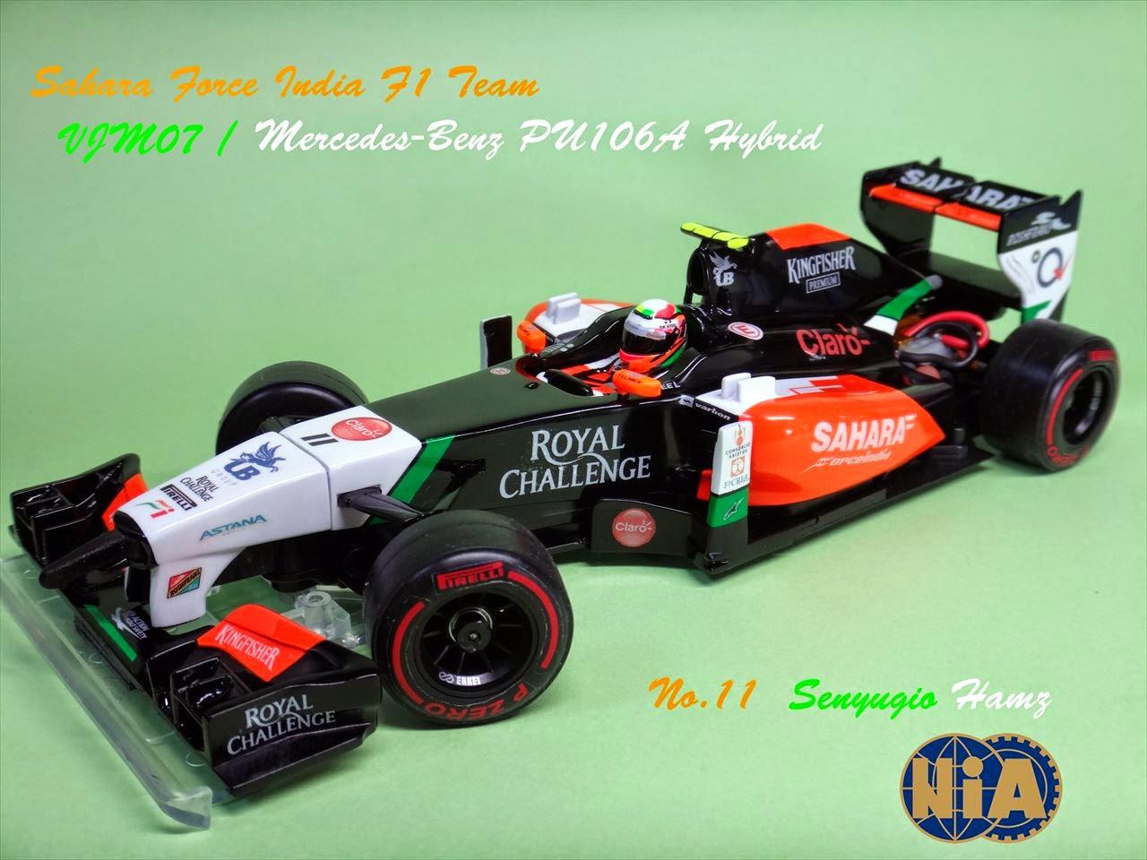 Kyoshosan Nia Custom Mini Z F1 Force India 2014 Pn Racing V2 Rc Printed Circuit Board Assembly Mr03 Setting
