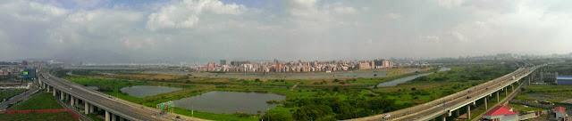 洲子洋重劃區-上河園 微參觀。河景照片