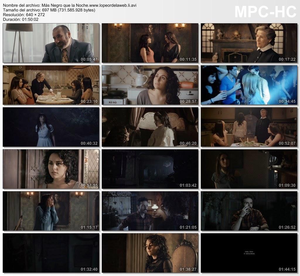 Más Negro que la Noche (2014) DVDRip Latino
