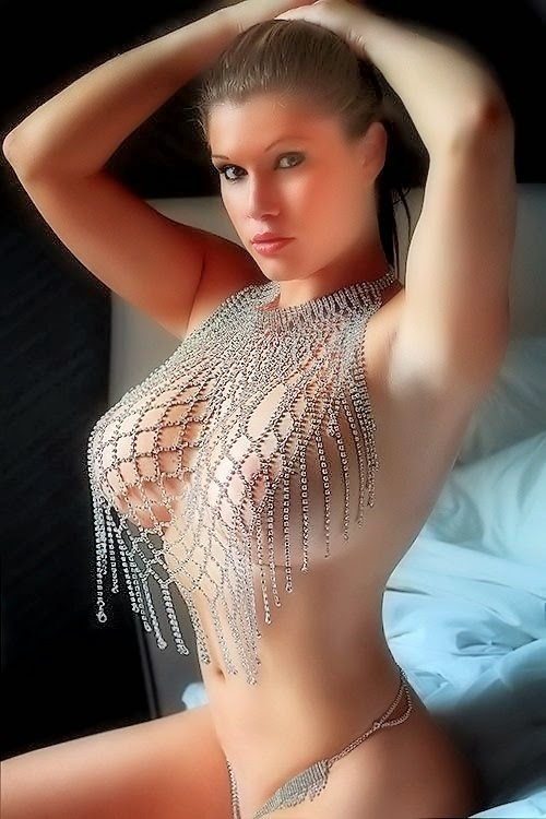 Hottest Bikini made from diamond