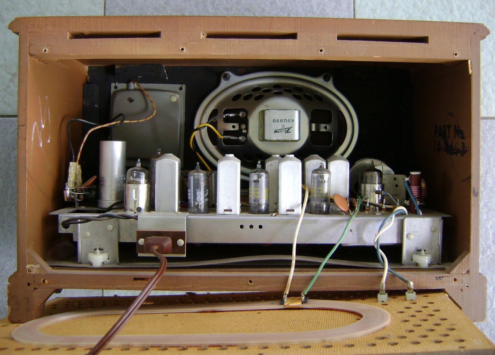 Kinta Valley Audio July 2011. Zenith Model K731 Tube Radio Used Sold. Wiring. Zenith Radio Schematics Model C730 At Scoala.co