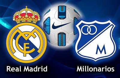 Ver Real Madrid vs Millonarios Online – En Vivo