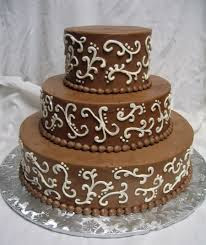 Chocolate Wedding Cakes Pictures