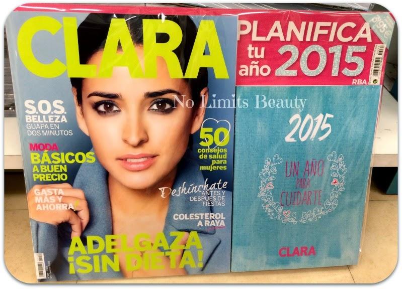 Regalos revistas Marzo 2015: Clara