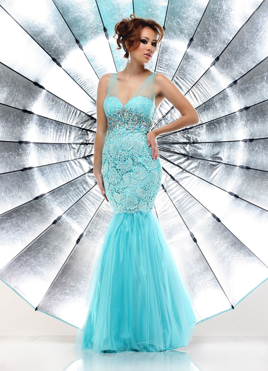 Drool Over Mermaid Prom Dresses To Steal | fashionable bridal ideas