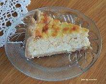Tvarohový cheesecake zo špaldovej múky
