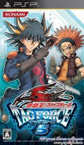 Download - Yu-Gi-Oh! 5Ds Tag Force 5 - PSP - ISO