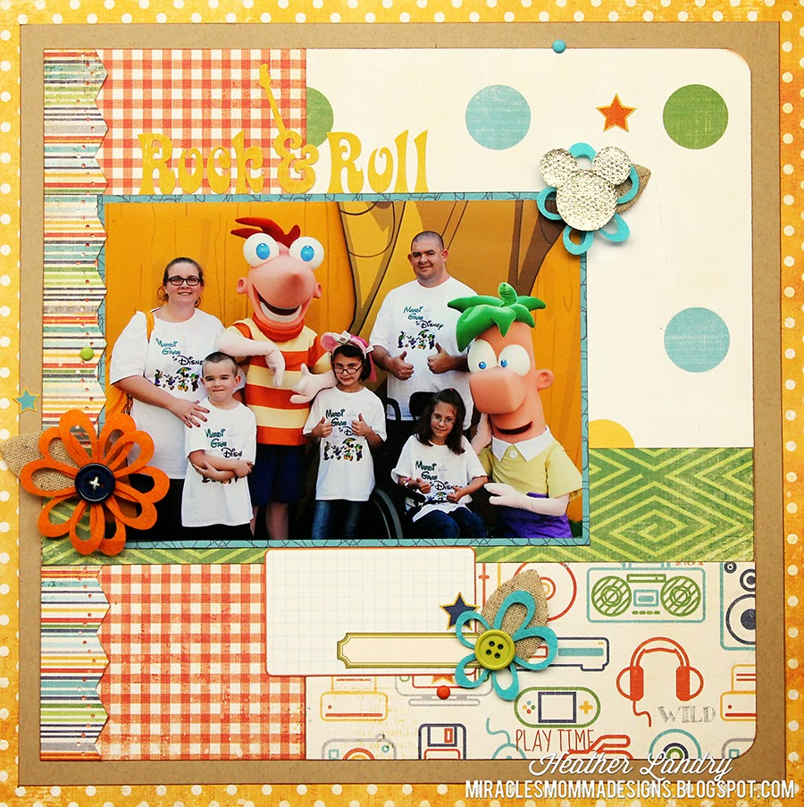Phineas And Ferb_Disney World_Scrapbook Page_Hollywood Studios