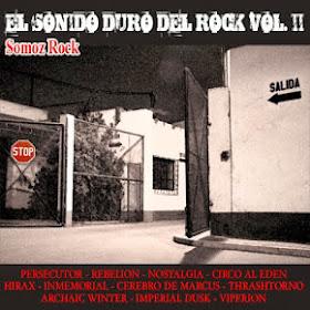 """DESCARGA EL COMPILATORIO """" EL SONIDO DURO DEL ROCK"""" VOL 2"""