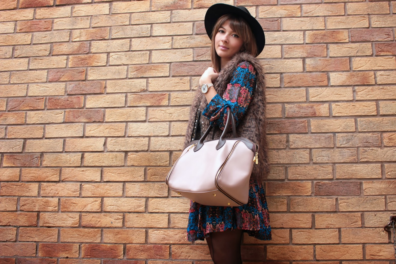 UK fashion blogger styles bohemian trend