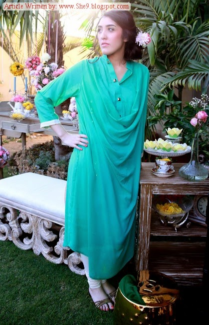 Hina Mirza Pret- Kurti and Tunic Fashion in Pakistan and India