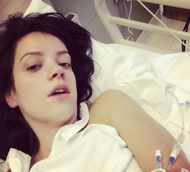 Vita Da Vip Lily Allen Finisce In Ospedale Non Smetto Più Di