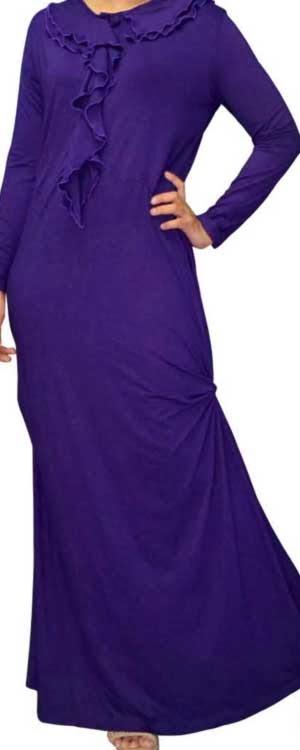 Baju Gamis Simple 2014 Model Baju Gamis Simple Modern