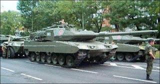 Kecanggihan Tank Leopard Jerman