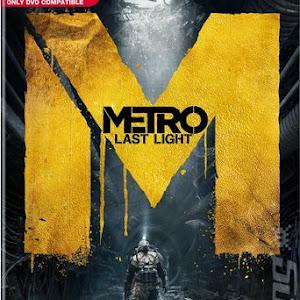 Скачать обои. metro last light, игра, надпись, человек, под землей.