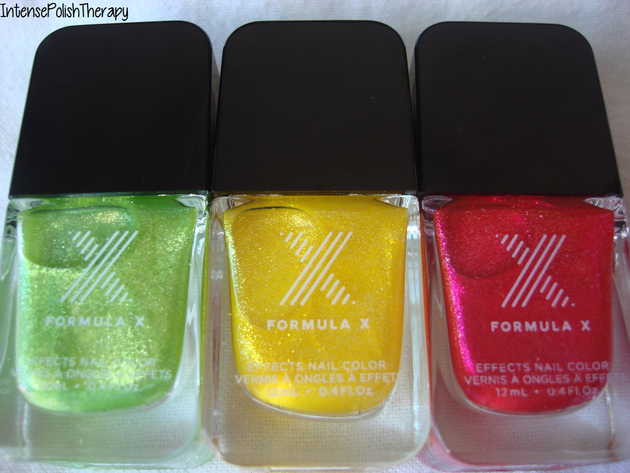 Sephora Liquid Crystals (Fluorescent, Highlighter & Solar Flare)