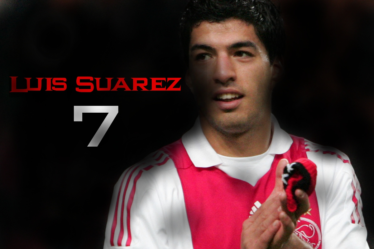 Luis suarez ajax amsterdam wallpaper wallpapers photos images and profile - Suarez liverpool wallpaper ...