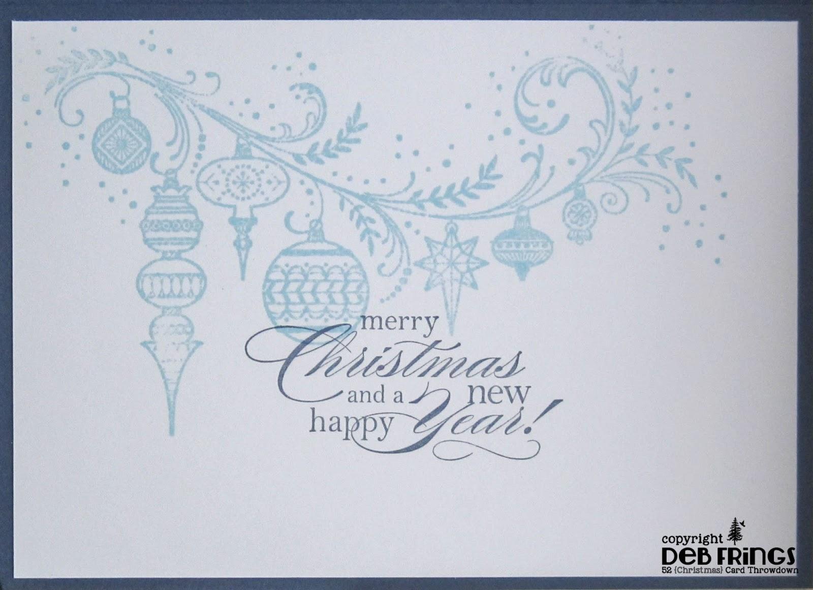 Festive Greetings inside - photo by Deborah Frings - Deborah's Gems
