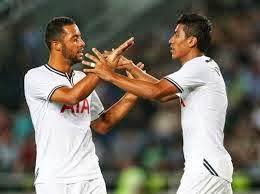 Dembele and Paulinho, Spurs midfield