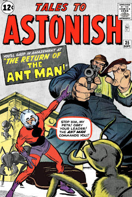 Tales to Astonish #35, the return of Ant Man