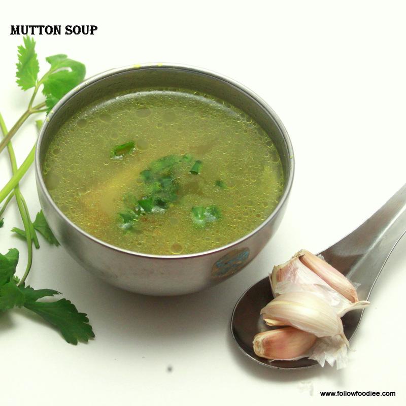 Mutton Soup / Lamb Soup