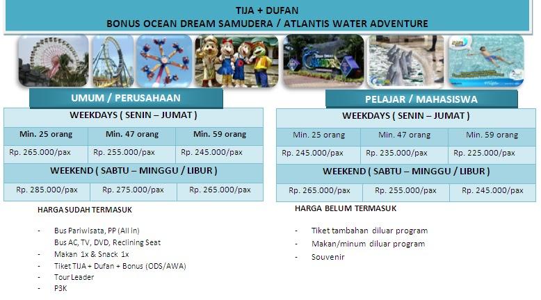 PAKET TOUR DUFAN & OCEAN DREAM SAMUDERA ANCOL [Update 2013] | Yudie