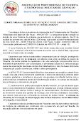 CONVITE PARA A ASSEMBLEIA DE VOTAÇÃO E POSSE DA NOVA DIRETORIA DA APROFFESP. TRIÊNIO 2018/2021