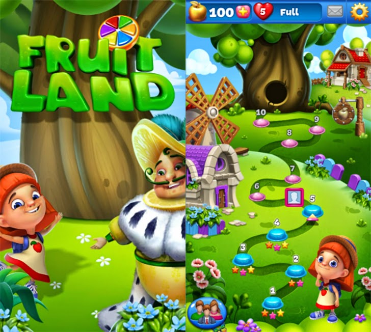 Fruit Land - Juicy Match3 Adventure App By Pacific Enterprises (asia) limited