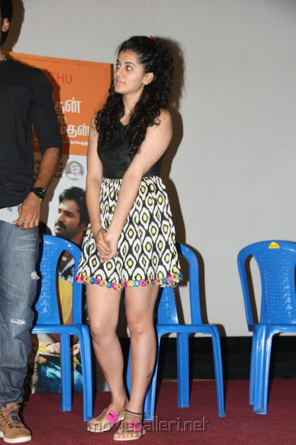 Taapsee Pannu Maranthen Mannithen Movie Press event