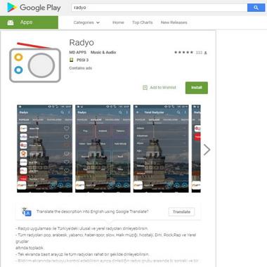play google com - store - radyo