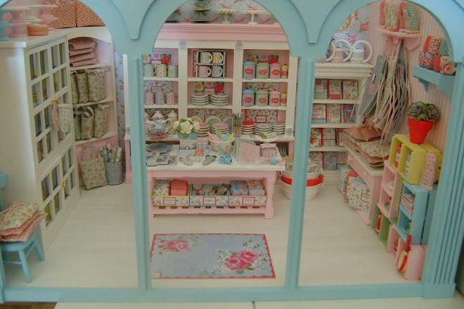 My Handmade Cath Kidston Shop... In Miniature