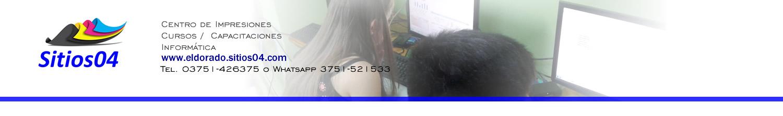 sitios04. Centro de Impresiones | Cursos y Capacitaciones | Informática