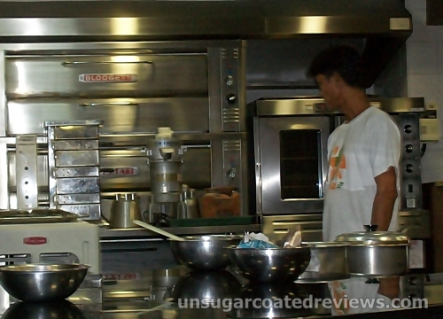 cooking equipment at the Center for Culinary Arts (CCA)-Manila USDA Theater
