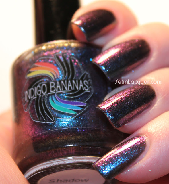 Indigo Bananas Shadow (Bright light)