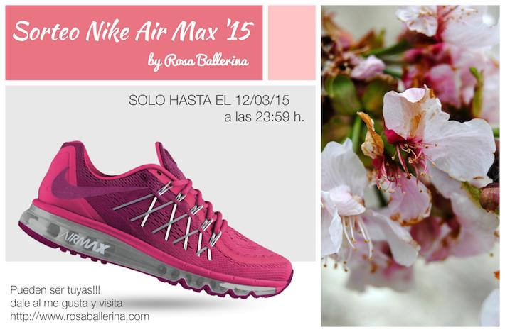 sorteo nike air max 2015