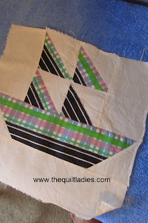how to make a sail boat quilt block