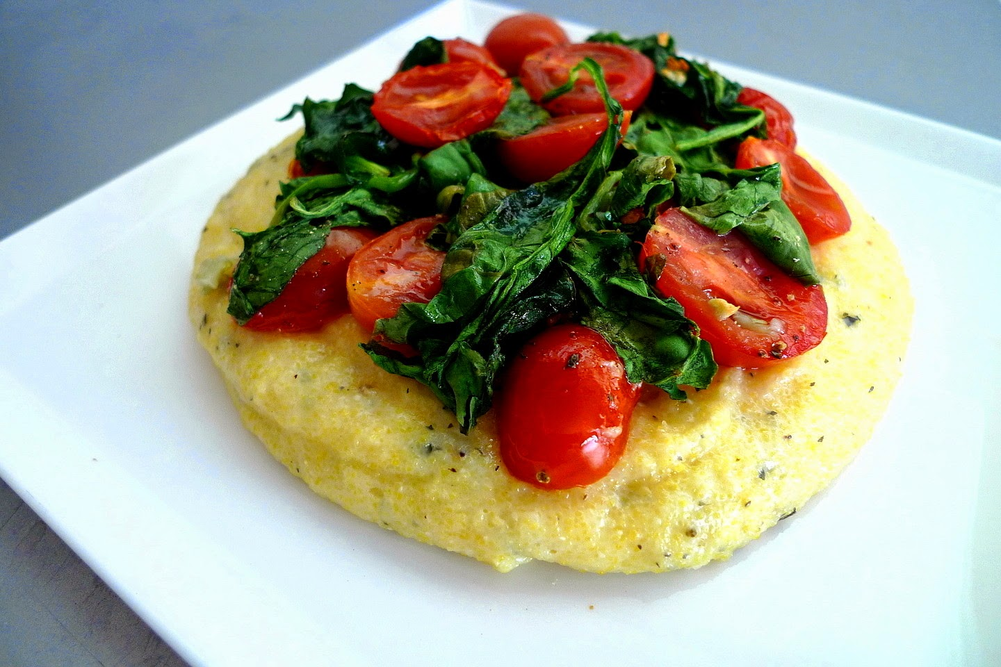 Baked Polenta With Tomato And Basil Recipes — Dishmaps